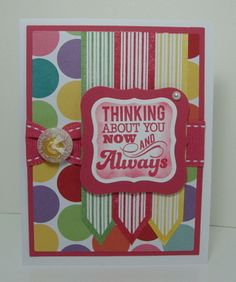Poster Board stamp set used here by Gina K.