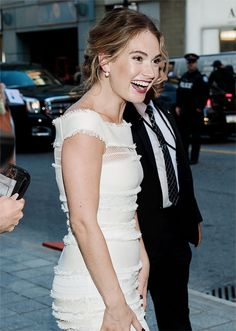 You Had Me at Downton ..Lily James at the premiere of The Exception at TIFF (September 15, 2016) ..