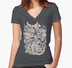 Old Friends (warm tones) by teevstee - grey, medium, $26 - Labyrinth shirt!