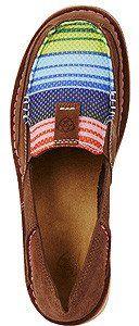 Ariat Serape Cruiser women's slippers - http://amzn.to/2ikL0vs