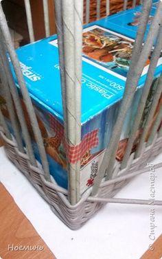 Поделка изделие Плетение Набор для ванной Трубочки бумажные фото 6