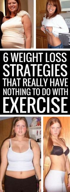 6 weight loss tips that don't involve exercise or diet.