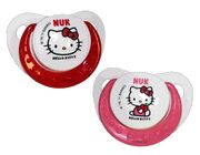 Hello Kitty Pacis from Nuk. @Amanda Adams this is the ones I bought Addy. how cute.