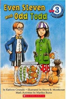 The First Grade Parade: Odd Todd & Even Steve book to go with odd and even lesson
