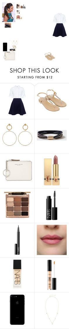 """#MTV 2017"" by ludmila-martinez ❤ liked on Polyvore featuring Paul & Joe Sister, Monsoon, Maria Francesca Pepe, Dorothy Perkins, Marc Jacobs, Yves Saint Laurent, Stila, NARS Cosmetics, Smashbox and ZoÃ« Chicco"