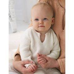 Baby's Pullover in Bernat Satin