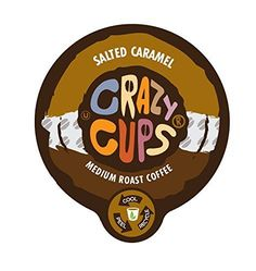Crazy Cups Salted Caramel Flavored Coffee Single Serve Cups (88 Count) *** Unbelievable product right here! : K Cups