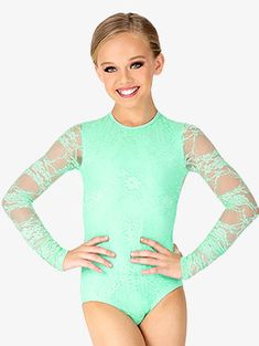 Lace Leotard, Long Sleeve Leotard, Mesh Long Sleeve, Girls Ballet Clothes, Girls Sports Clothes, Cute Baby Boy Outfits, Cute Outfits, Girls Dance Costumes, Little Girl Models