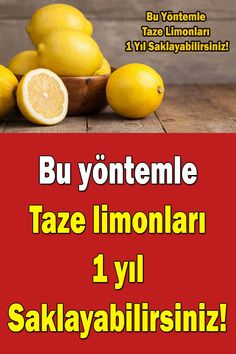 How to Keep Fresh Lemon for a Long Time? Healthy Diet Recipes, Life Is Good, Home Kitchens, Kitchen Decor, Life Hacks, Health Fitness, Food And Drink, Fresh, Drinks
