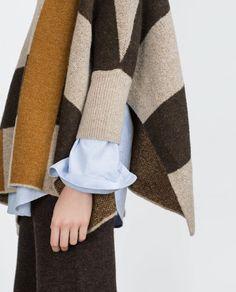 Image 3 of SWEATER WITH SIDE SLITS from Zara Zara United Kingdom, Zara Women, New Trends, Knitwear, Pajamas, Clothes For Women, Knitting, Sweaters, Fashion Tips