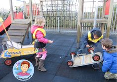 Thema 'pech onderweg' ANWB rollenspel voor kleuters wegenwacht kleuteridee