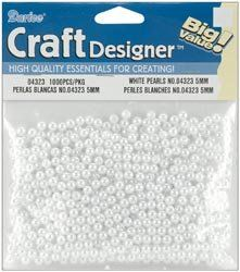 Bulk Buy Darice Pearls 5mm 1000Pkg White 04323 3Pack * You can find out more details at the link of the image.