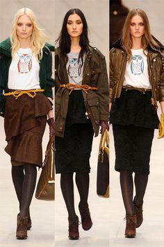 Animal sweater: this is from Burberry Prorsum