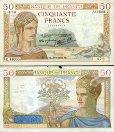 Ceres and Mercury on French bank notes Money Photo Albums, Cave Drawings, Puerto Rico History, Money Talks, World Coins, Ways To Earn Money, Dramatic Play, Classical Art, Historical Maps