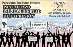 PANCARTAZO EN VALERA POR LA LIBERTAD DE EXPRESIÓN