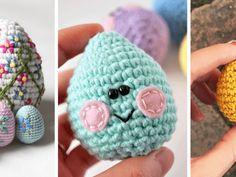 Horgolt tojás minta leírással a tökéletes húsvéti dekorációhoz Crochet Hats, Blog, Amigurumi, Knitting Hats