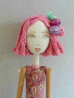 OOAK art doll.  Cerchiofatato on Etsy