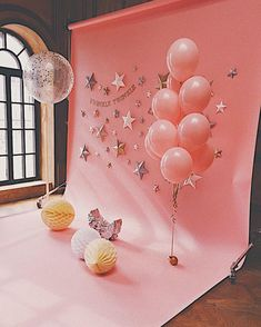 25 Trendy Ideas For Baby Photoshoot Backdrop Birthday Parties Balloon Decorations, Birthday Party Decorations, Baby Shower Decorations, Birthday Backdrop, Birthday Balloons, Flower Decorations, Birthday Centerpieces, 1st Birthday Photoshoot, Baby Birthday