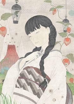 Juxtapoz Magazine - Chibako Taro's Psychedelic World