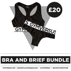 Bra and Brief Bundle Now Available!  Grab yourself the Briefs to go with the affordable Jersey Bralette for only 1 extra!  Shape Your Future at GYMVERSUS.com  #gymversus #shapeyourfuture #activewear #luxe #sportswear #athleisure #fashion #performance #style #london #clothing #apparel #health #fitness #fit #fitnessmodel #model #girl #fitspo #photooftheday #selfie #active #strong #motivation #instagood #determination #lifestyle #diet #cheatday #exercise