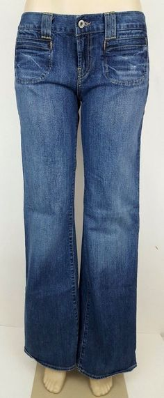 Lucky Brand Women's Flare St. Tropez Jeans Size 8 30 x 33 #LuckyBrand #BootCutFlare
