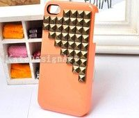 Wish   studded iphone 4 case, handmade iphone 4s case iphone cover skin iphone 4s case - rivet pyramid iphone 4 case