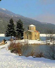 Visit Greece | Lake Doxa, Korinthia, Peloponnese