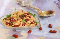 Rajma Rice / Rajma Mint Rice ~ Sankeerthanam (Reciperoll.com)|Recipes | Cake Decorations | Cup Cakes |Food Photos