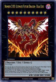 Number 100 : Numeron Dragon by sangmaitre on DeviantArt