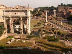 Mesterhármas / Colosseum, Palatinus, Forum Romanum