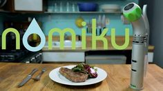 Nomiku: bring sous vide into your kitchen. by Abe Fetterman. Don't salivate in vain at the delicious food your favorite chefs make. Nomiku cooks sous vide at a very precise temperature.