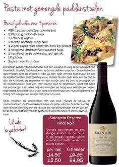 Salentein Barrel Selection Pinot Noir - Mendoza - Argentina - Recipe