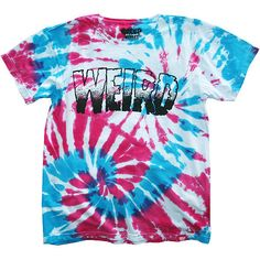 WEIRD TEE ($15) ❤ liked on Polyvore featuring tops, t-shirts, shirts, t shirts, shirt top, tee-shirt and t shirt