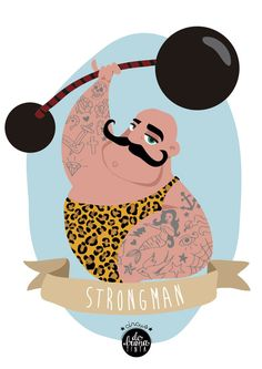 #tattoo#strongman