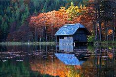 Lake cabin Austria