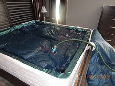 Brandy's Big Bargains: Turn ANY Bed Frame into a Waterbed Frame!