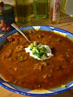 Four years ago when I went to Prague, I ordered a dish of goulash at a little restaurant near our hostel. It was my first taste of goulash–my first heavenly taste of that paprika-y, hearty st… Czech Goulash, Czech Recipes, Ethnic Recipes, Food Dishes, Main Dishes, Canning Crushed Tomatoes, Goulash Recipes, Hungarian Recipes, German Recipes