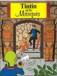 Les Aventures de Tintin - Album Imaginaire - Tintin et le Marquis