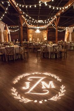 classic upscale southern wedding nashville wedding lighting at houston station from bright event productions