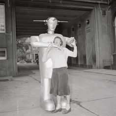 Early robots could smoke cigarettes, pour tea...and shoot guns