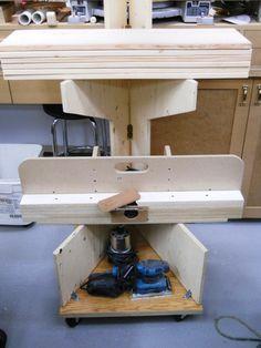My Folding Lumber Rack Turns Mobile / Mon support à boispliant maintenant mobile