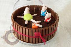 Cake design Archives - Surprises et gourmandises Chocolat Gianduja, Cake Chocolat, Gateau Cake, French Cake, Number Cakes, Base, Numbers, Pudding, Recipes