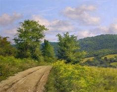 Summer in Vermont by Andrew Orr Oil ~ 20 x 24