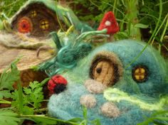 Hey, I found this really awesome Etsy listing at https://www.etsy.com/listing/110234272/diy-gnome-home-needle-felting-kit-fairy