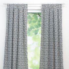 Chooty & Co Oskar Terrace Tab Top Curtain Panel