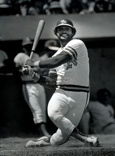 Reggie Jackson - a swing and a whiff, naturally. Reggie Jackson, Baseball Players, Baseball Teams, Baseball Cards, Baseball Photos, Perfect Game, American League, Oakland Athletics, Ny Yankees