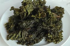 Kale Chips!! Surprisingly delicious!