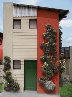 Very interesting- vertical garden for your walls by Haldane Martin