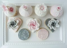 Bespoke designer custom wedding cupcakes Scotland, Edinburgh, Glasgow