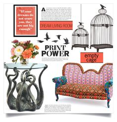 Print Power -Living room by dolly-valkyrie on Polyvore featuring polyvore interior interiors interior design home home decor interior decorating Oliver Gal Artist Co. Nearly Natural Jayson Home living room livingroom